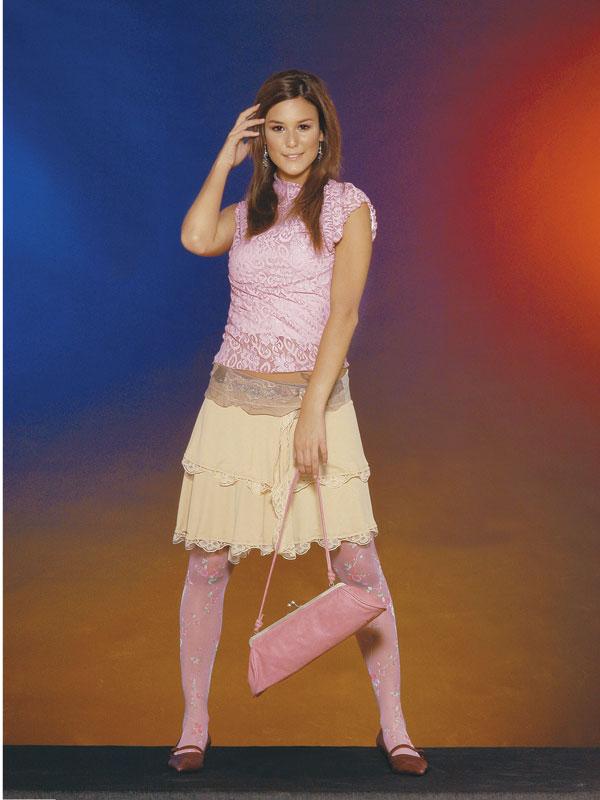 Журнал «Шитье и крой» (ШиК) № 02/2006. Модель 5. Топ. Модель 6. Юбка. Фото.