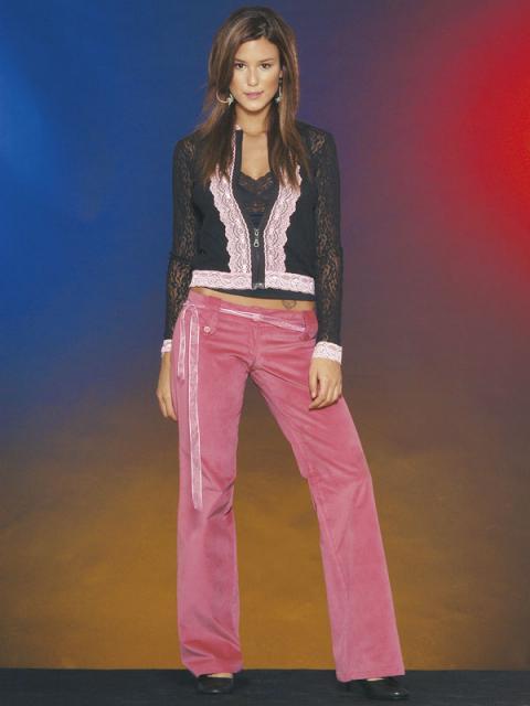 Журнал «Шитье и крой» (ШиК) № 02/2006. Модель 7. Куртка. Модель 8. Брюки. Фото.
