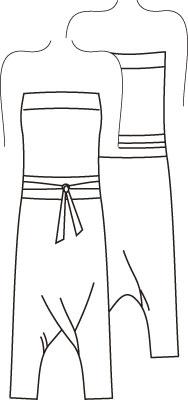 Выкройки женской одежды. Выкройка