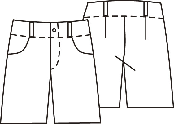 эскизы шорт: